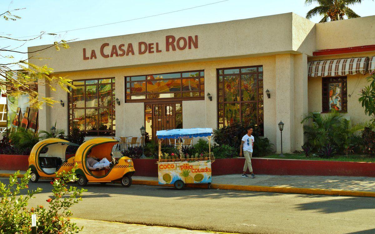 Casa del Ron Varadero Cuba
